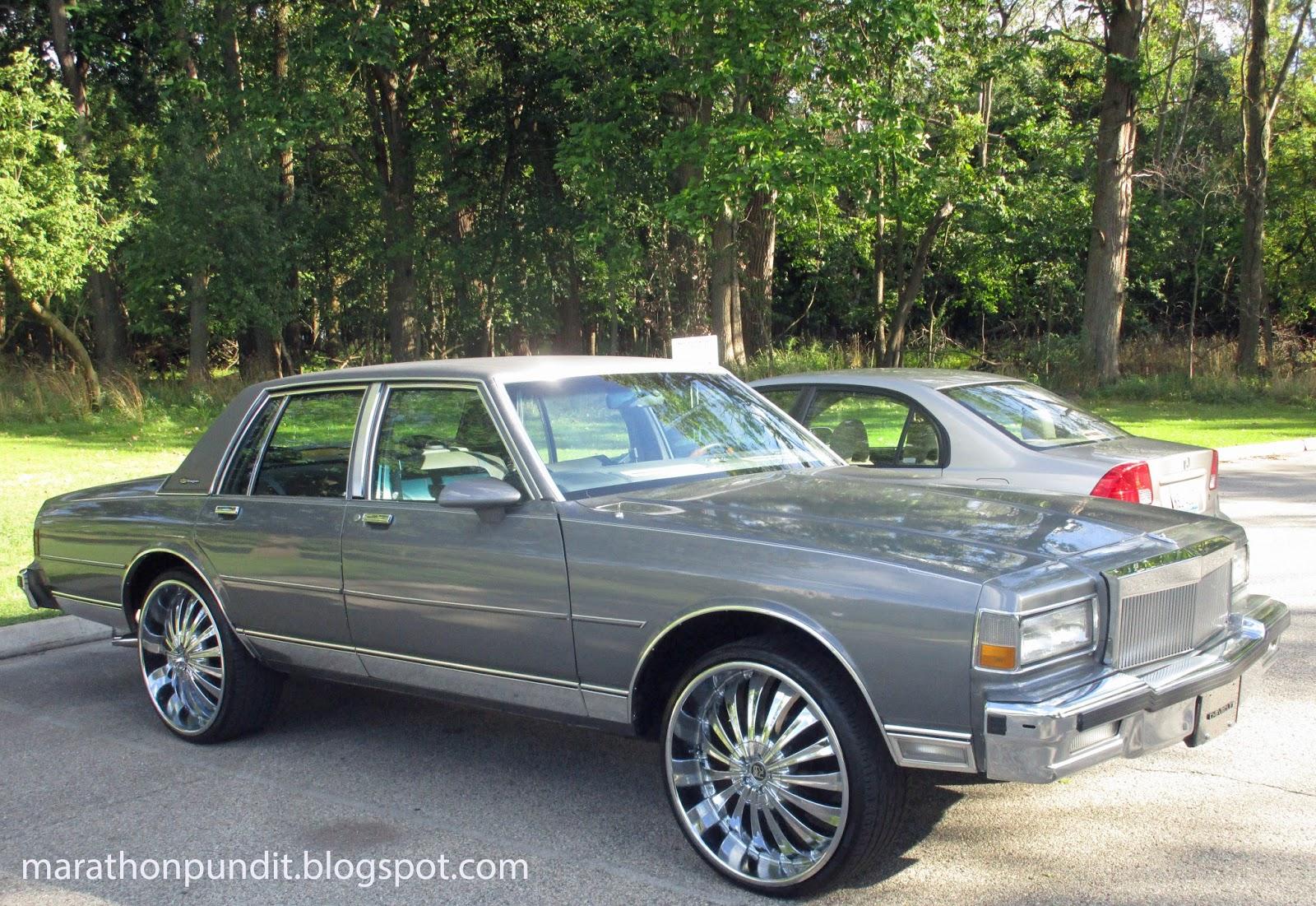 marathon pundit classic car 1989 chevy caprice classic. Black Bedroom Furniture Sets. Home Design Ideas