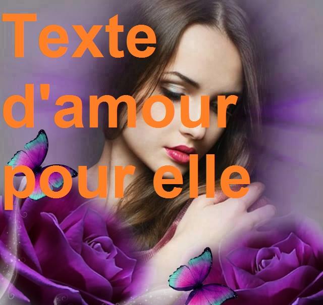 Texte Damour Pour Elle Mot Damour