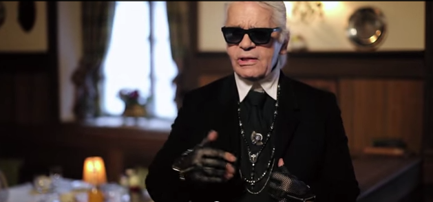 "Karl Lagerfeld on His Latest Chanel Film, ""Reincarnation"""