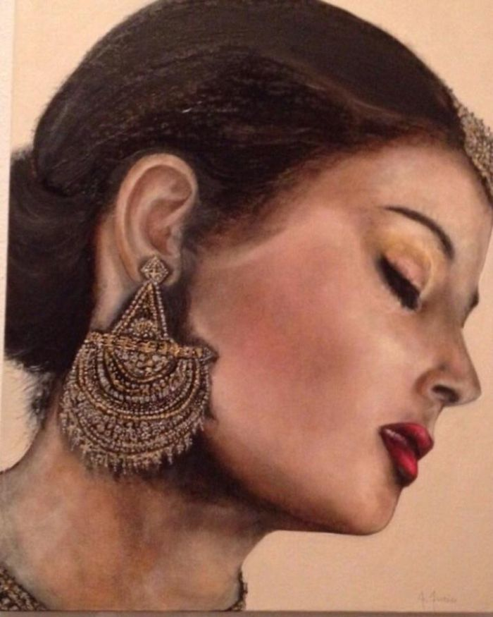 Итальянский художник. Francesca Furin
