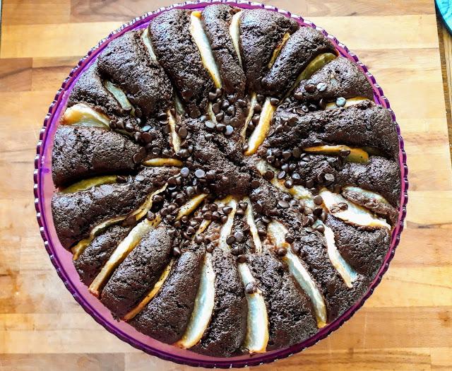 torta pere cioccolato fondente