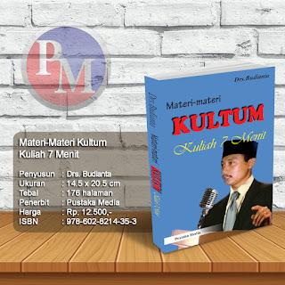 Materi-Materi KULTUM - Kuliah Tujuh Menit | Rp. 12.500,-