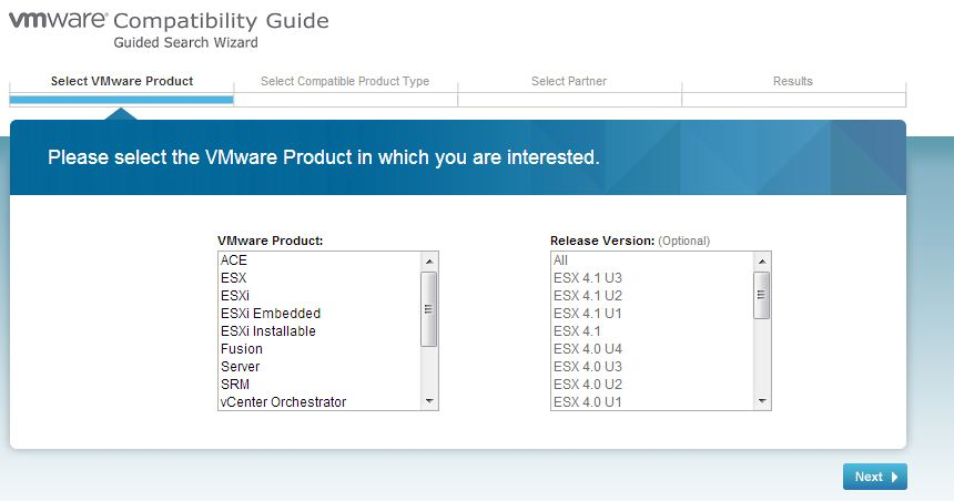 vXpress: Using the VMware Hardware Compatibility List (HCL)!!