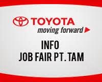 Info Lowongan Kerja 2015 PT Toyota Astra Motor (TAM) Manufacturing Indonesia
