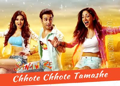 Chhote Chhote Tamashe - Sanam Re (2016)