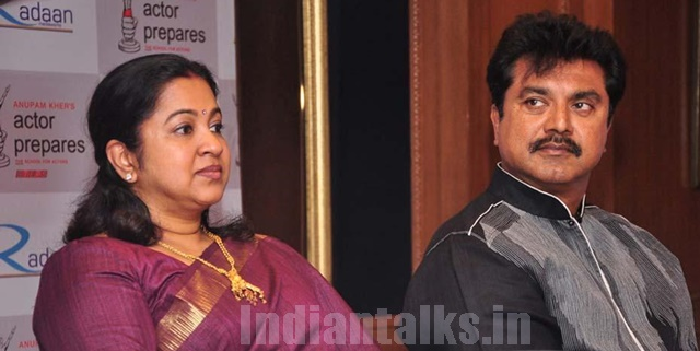 Sarathkumar & Radhika Blames TTV Dinakaran For Income Tax Raids To There Residence