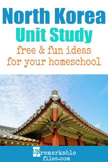 This North Korea unit study is kid-safe and packed with activities, crafts, book lists, and recipes for kids of all ages! Make learning about communism in your homeschool kid-friendly and fun with these free ideas and resources. #northkorea #dprk #communism #homeschool