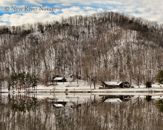 Winter Reflections at Hungry Mother State Park