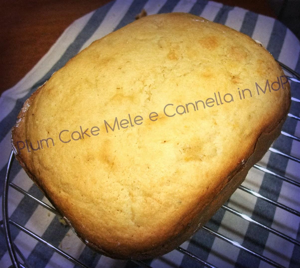 Ricetta Torta Di Mele Macchina Del Pane Kenwood.Tania Senza Glutine Plum Cake Alle Mele E Cannella In Mdp