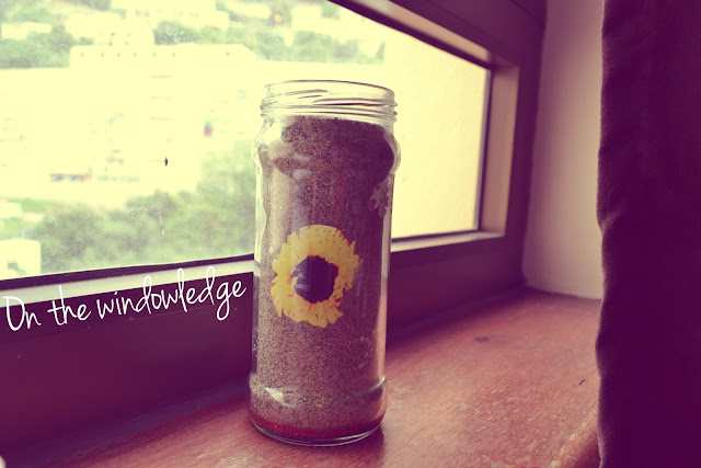 DIY: sand jar | Love, Maisie