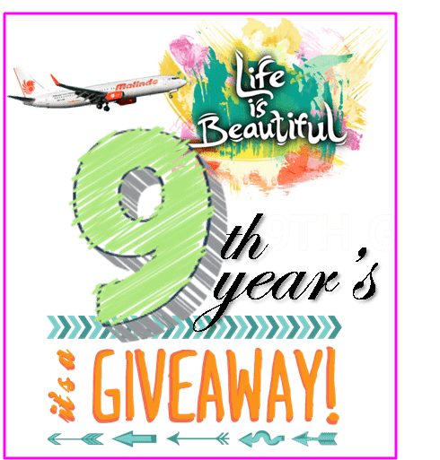LIFE IS BEAUTIFUL 9TH YEARS GIVEAWAY!
