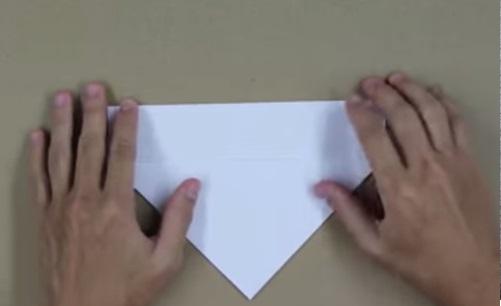 Hướng dẫn gấp máy bay F15 bằng giấy