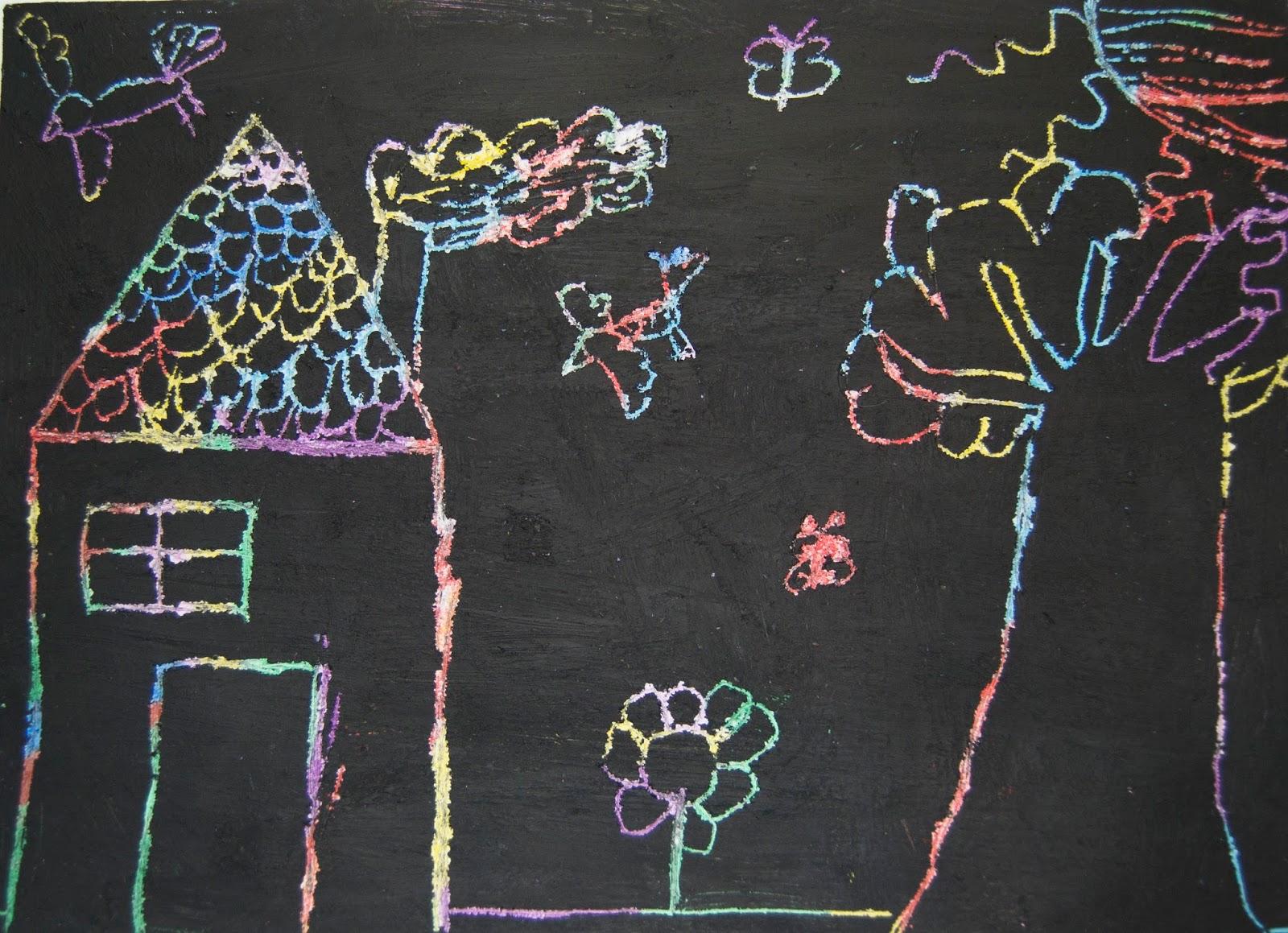 Original Libreta Mágica Para Raspar Dibujar Y Escribir: Días De Inspiración: Manualidades Para Niños
