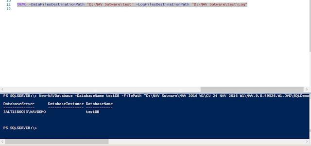 SQL DB Restore Powershell