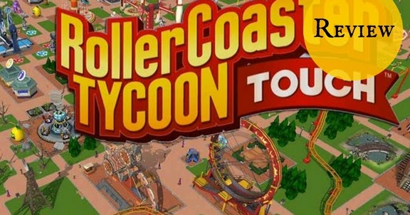 The Bookish Gamer: Roller Coaster Tycoon Touch Review