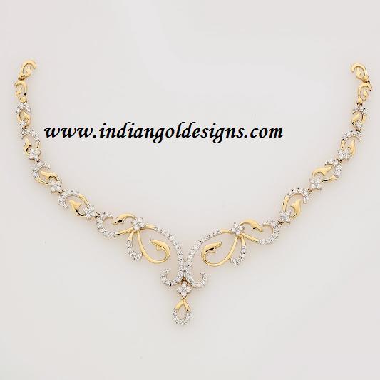 7dd3fc4bc54cd Gold and Diamond jewellery designs: gitanjali jewels designer light ...