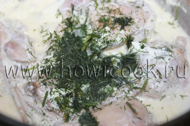 рецепт кролика в сметане с пошаговыми фото