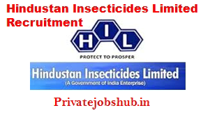 Hindustan Insecticides Limited Recruitment