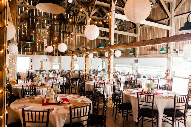 A Cranberry and Blue Autumn Wedding at Worsell Manor Barn Wedding in Warwick, MD by Heather Ryan Photography