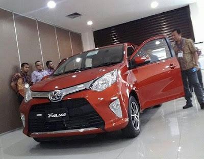 Toyota Calya Palembang