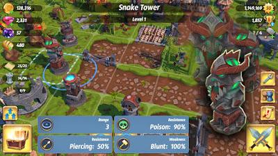 لعبة Royal Revolt 2 مهكرة جاهزة للاندرويد, لعبة Royal Revolt 2 مهكرة بروابط مباشرة