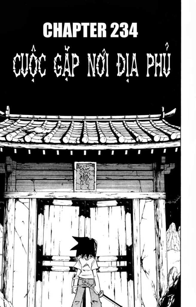 Shaman King [Vua pháp thuật] chap 234 trang 3