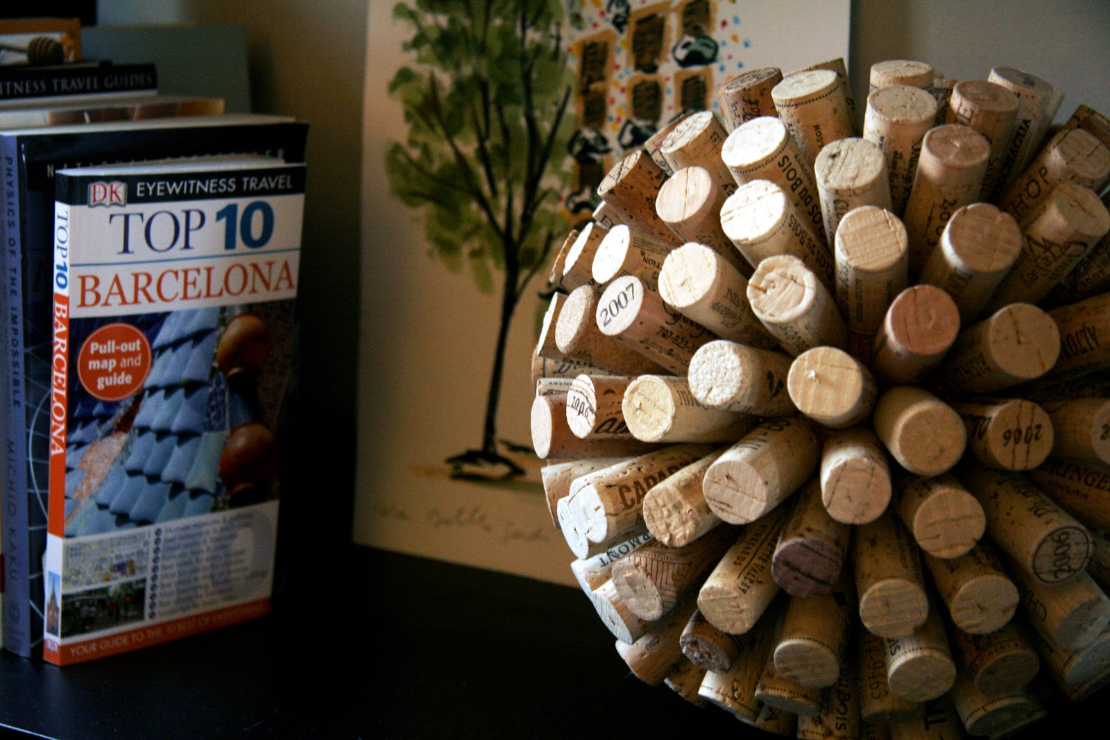 Painting Wine Corks Diy Projects