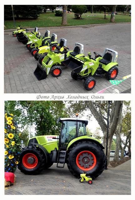 Трактора и тракторишки