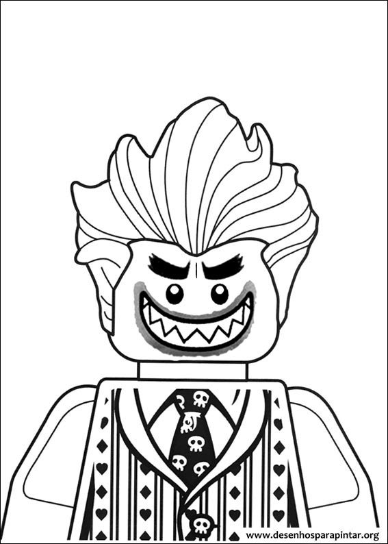 Coloring pages for kids free images lego batman movie for Lego batman 2 coloring pages