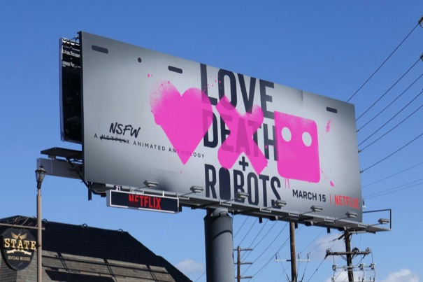 Love Death Robots series billboard