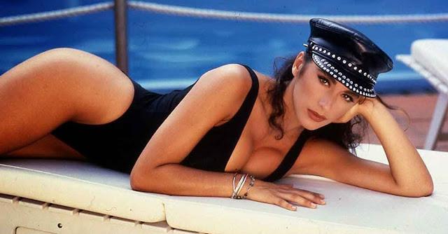 Sabrina Salerno, in arte Sabrina, indiscussa icona degli anni '80