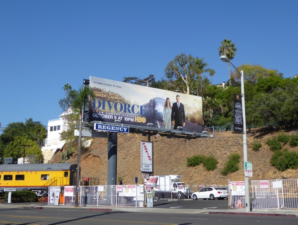 Divorce series launch billboard