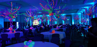 Clow party decoration