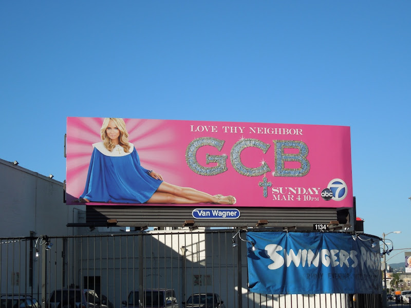 GCB ABC billboard