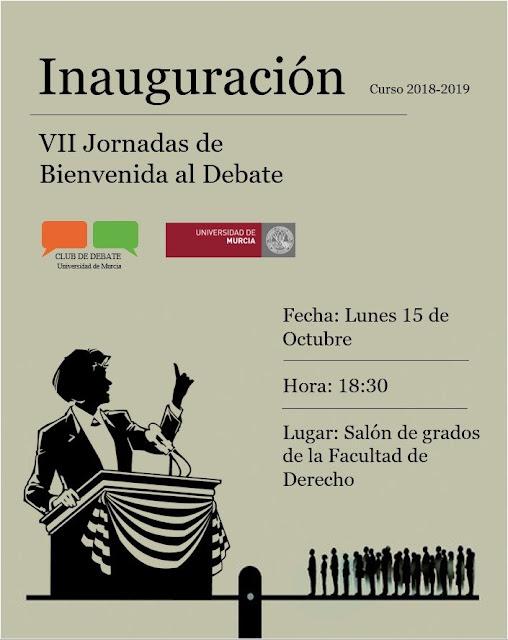 VII Jornadas de Bienvenida al Debate
