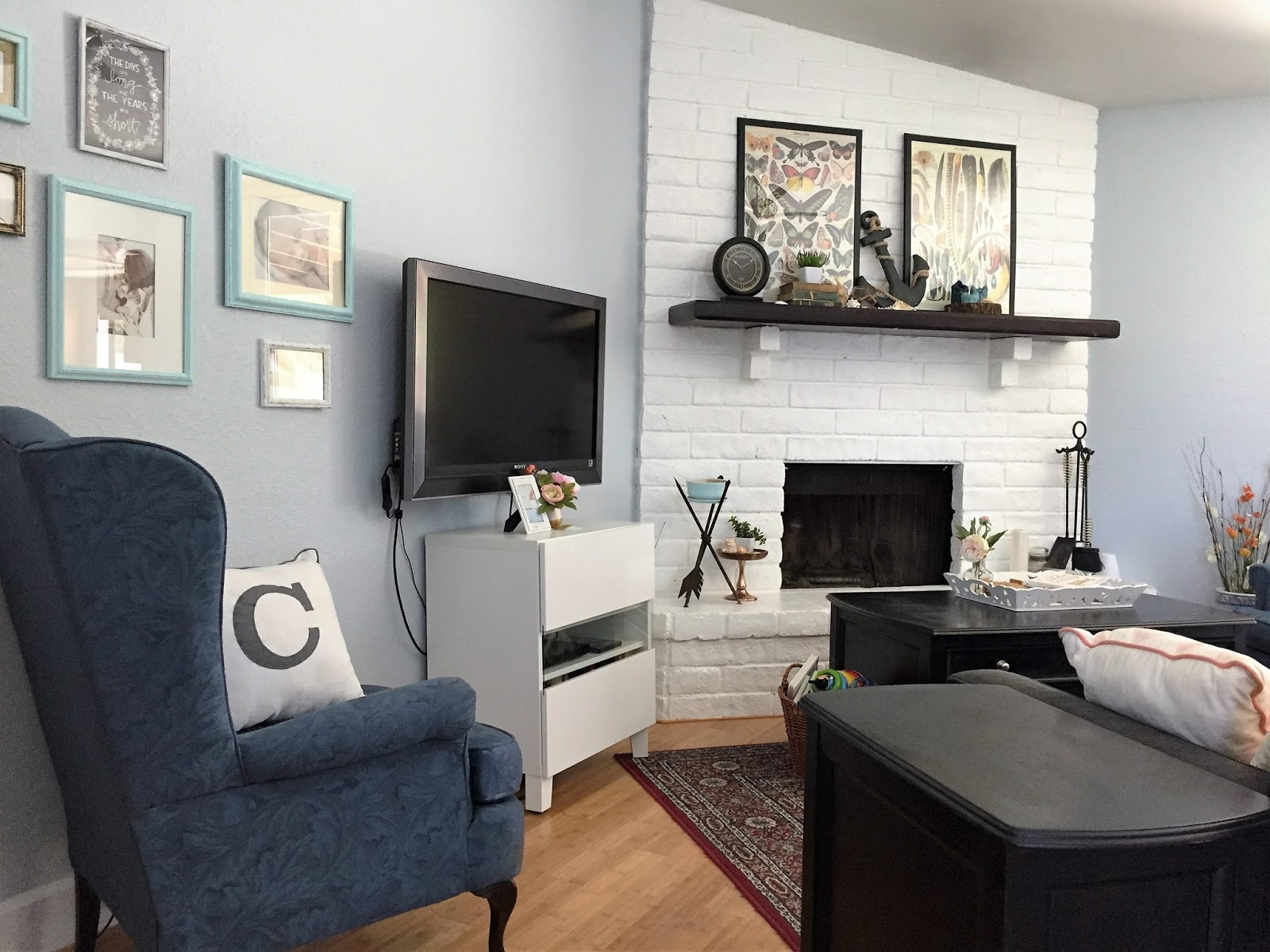 Image Result For Gray And Navy Living Room