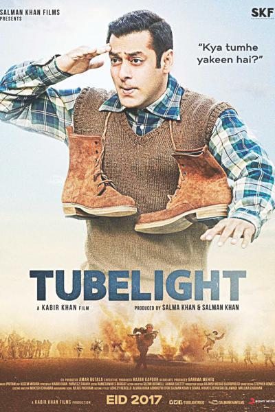 Tubelight (2017) Hindi Movie 400MB HDRip 480p