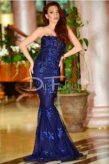Rochie Luxuring Dark Blue