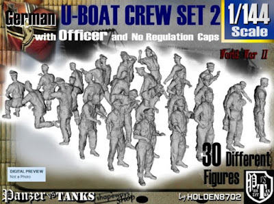 1-144 German U-Boot Crew Set 2 picture 1