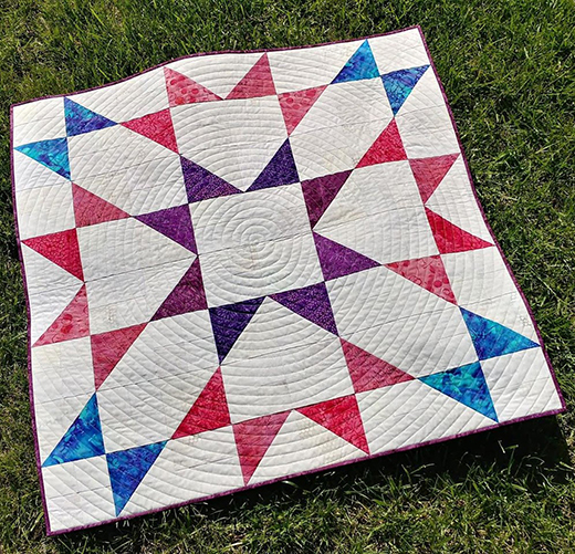 Vintage Made Modern Quilt Free Tutorial