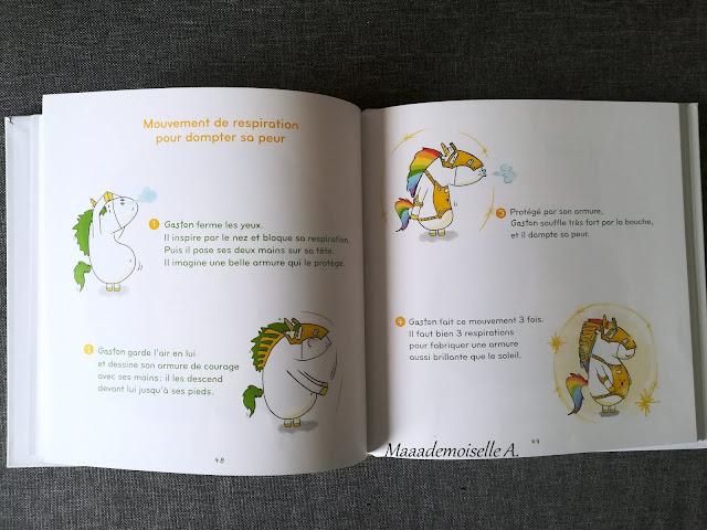    Mes émotions, Gaston la licorne (Présentation & Avis)(Chut, les enfants lisent # 102)