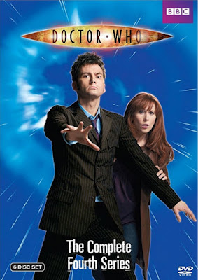 10th Doctor brown suit - Doctor Who season 4 DVD