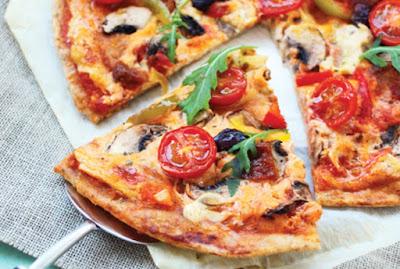 Pizza Mediterrânea (vegana)