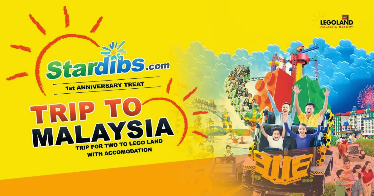 Win a Trip for 2 to Lego Land Malaysia at Stardibs com