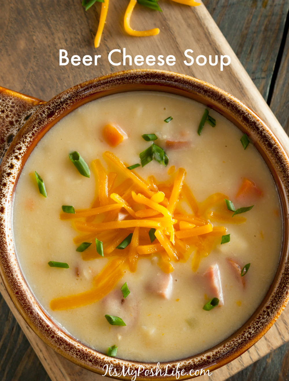 Homemade Beer Cheese Soup