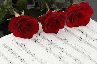 Rosas Rojas partitura musica