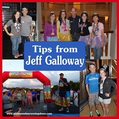 Jeff Galloway Tips