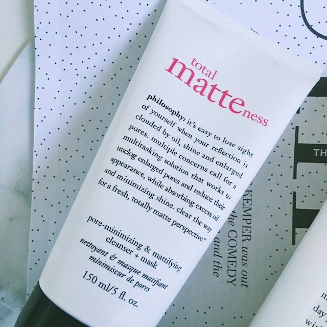 Philosophy Total Matteness Pore Minimizing and Mattifying Cleanser and Mask