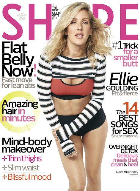 Ellie Goulding compartió su rutina fitness y es intensa.