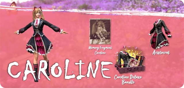 Fitur Emote dan Karakter Baru Caroline Free Fire
